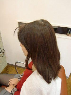髪質改善科 主治美 坂口泰幸です。今日もがんばります。